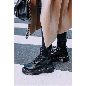 Dr. Marten Jadon Platform Boots
